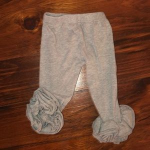 Other - Ruffle Leggings T-shirt Gray Size 12 months